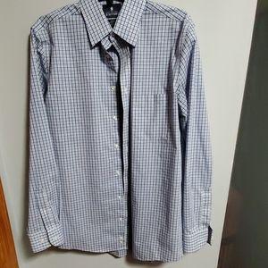 15 1\2 Flitted long sleeve Mens dress shirt